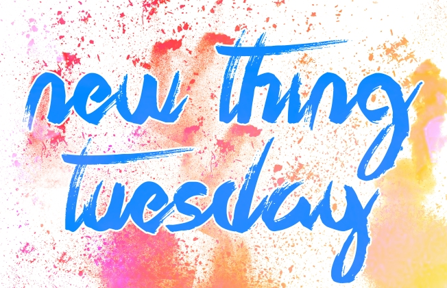 New Thing Tuesday Button