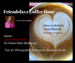 Friendsfavz Coffee Hour Friday, April 17th